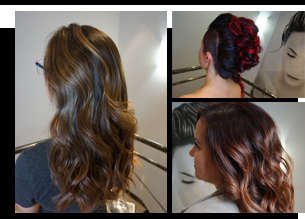 hair colour styling
